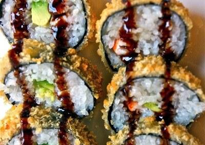 Frittierte Sushi